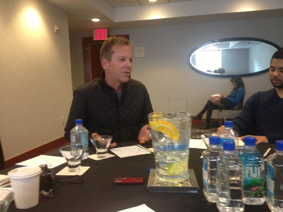 "Kiefer Sutherland discusses ""The Reluctant Fundamentalist"""