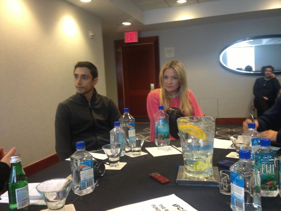 "Riz Ahmed and Kate Hudson discuss ""The Reluctant Fundamentalist"""