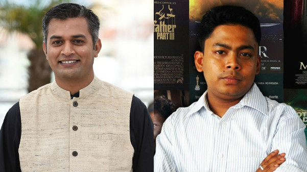 Director Neeraj Ghaywan (L); Shiladitya Bora (R)