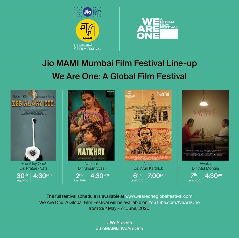 We Are One: MAMI to screen 4 Indian films